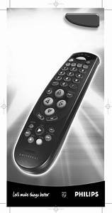 Philips Universal Remote Sbc Ru641  00 User Guide