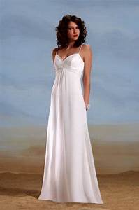 Casual wedding dresses beach for Beach wedding dresses casual informal