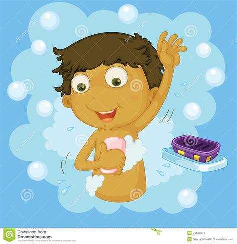 shower clipart boy clipart of boy taking a shower