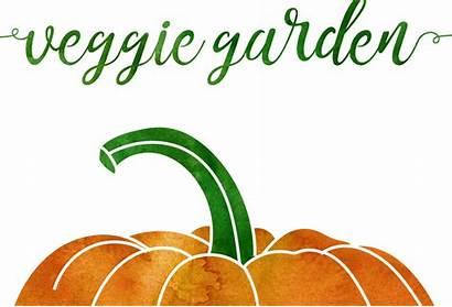 Vegetable Clipart Garden Produce Watercolor Veggie Graphics