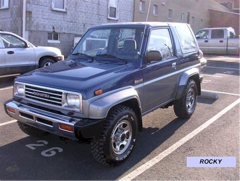 1991 Daihatsu Rocky by Ssblast20 1991 Daihatsu Rocky Specs Photos Modification