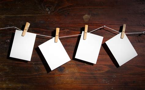 Light Wood Wallpaper Hd Wood String Blank Paper Clips Brown Background Wallpapers