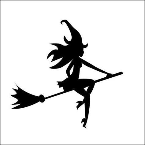 cute lady witch stencil  jennastencils  etsy