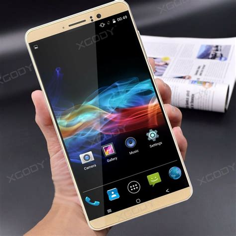 3g Mobile by 6 Quot Android 5 1 Dual Sim Mobile Phone Smartphone