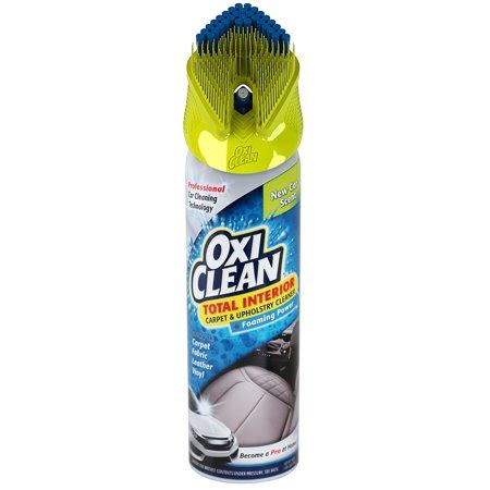 Oxiclean Upholstery Cleaning by Oxi Clean Total Care Carpet Upholstery Cleaner Walmart