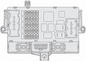 Fiat Idea  2003  U2013 2012   U2013 Fuse Box Diagram