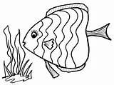 Coloring Hook Fishing Fish Getcolorings Printable sketch template