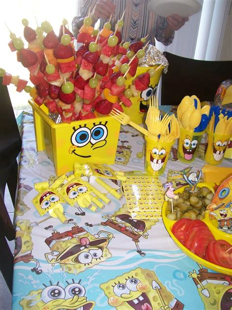 spongebob cuisine 25 best ideas about sponge bob birthday on