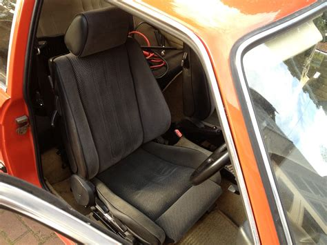 E30 Seats by E21 Dub Club E30 Sports Seats Fitted