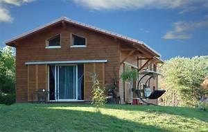 Maison Préfabriquée En Bois : kit maison ossature bois pas cher boismaison ~ Premium-room.com Idées de Décoration
