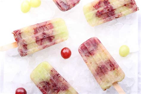 Frozen Grapes On A Stick Easiest Ever Grape Popsicles