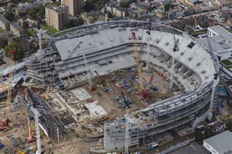 Aerial images show impressive progress at White Hart Lane ...
