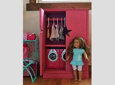 Ana White Star Doll Closet for American Girl or 18