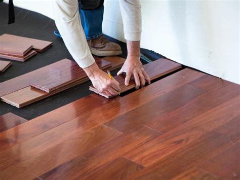 how to install a wood floor yourself hardwood flooring installation diy