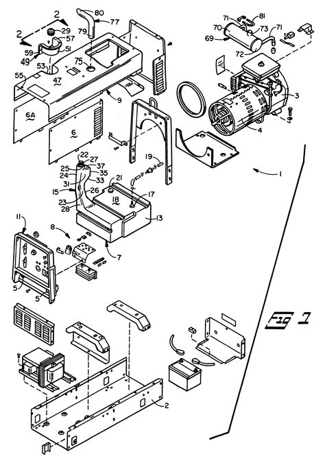 Ranger 8 Welder Part Diagram by Patent Us6172332 Fuel Tank Filler Assembly For Engine