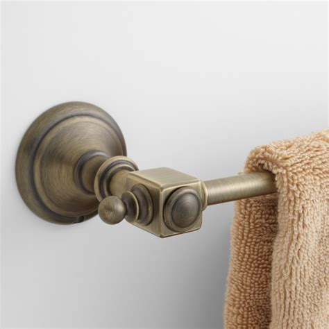Vintage Towel Bar   Bathroom