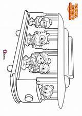 Coloring Daniel Neighborhood Trolley Tiger Children Bubakids Serials Cartoon Printable Tigers Ads Google sketch template