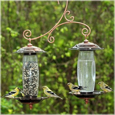 bird water feeder woodstream birdscapes 737 bronze sip seed bird feeder