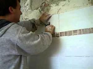 Fliesen Verfugen Wand : heimwerkertoos 3 wie fliest man fliesen an die wand youtube ~ Frokenaadalensverden.com Haus und Dekorationen