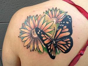 25 Best Butterfly Tattoo Designs for Girls