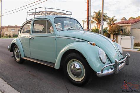 volkswagen beetle 1965 1965 volkswagen beetle vw california bug restored