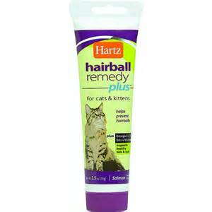 hairball remedy for cats hartz mountain 95009 hairball eliminator remedy plus for
