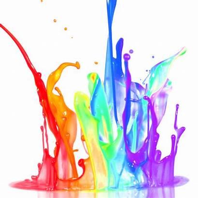 Splash Paint Paints Clipart Picsart Sticker Colourful