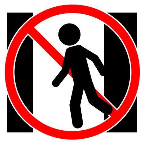 通り抜け禁止|警告ポスター|貼り紙|フリー素材|イラスト