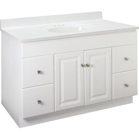 48 Cabinet With Drawers by New Bathroom Vanity Drawer Base Cabinet White Thermofoil