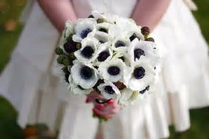 corsage and boutonniere cost bouquet bridal anemone bridal bouquet ideas