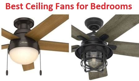 Best Ceiling Fans For Bedrooms by Top 15 Best Ceiling Fans For Bedrooms In 2019