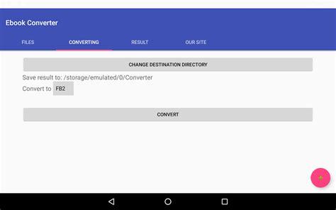 Ebook Converter (epub, Mobi, Fb2, Pdf, Doc, ) Android