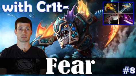 fear slark safelane with cr1t witch doctor dota 2 pro mmr gameplay 8 youtube