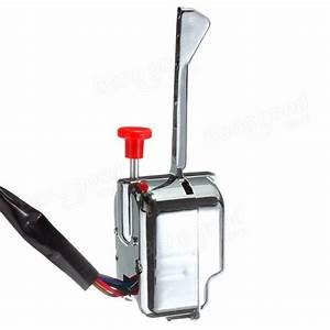 Chrome 12v Universal Street Hot Rod Turn Signal Switch For Ford Buick Gm Sale