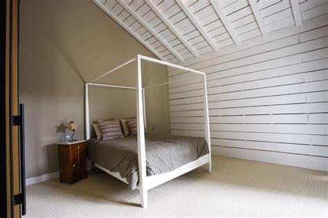 chambre avec lambris blanc chambre lambris blanc design de maison