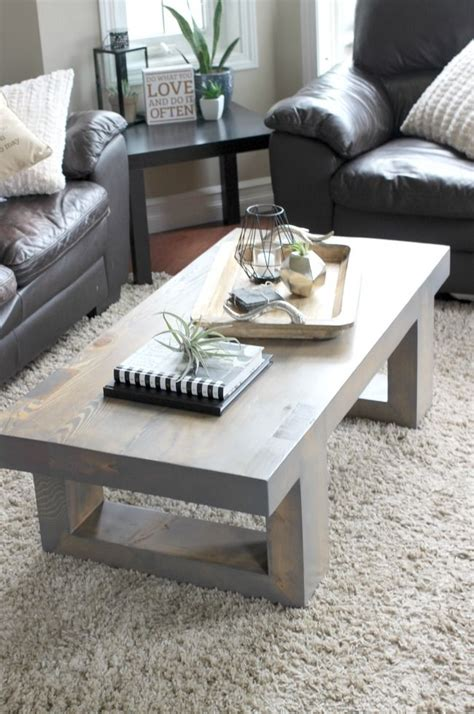 Decorating Ideas For Coffee Tables by Modern Coffee Table Build Plans For The Home