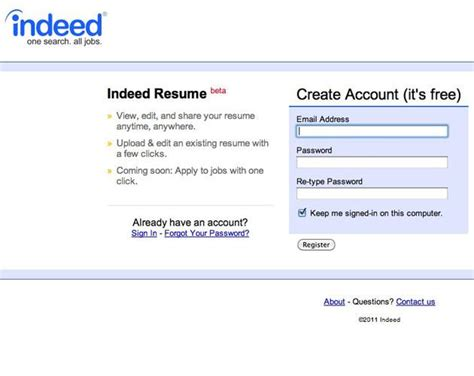 How To Upload Resume To Indeed From Iphone by Indeed Resume Beta Slide 6 Slideshow From Pcmag