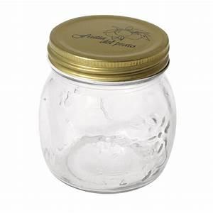 Pot Verre Couvercle : pot en verre avec couvercle 39 rayher homemade goodies 39 8 cm 250 ml la fourmi creative ~ Teatrodelosmanantiales.com Idées de Décoration