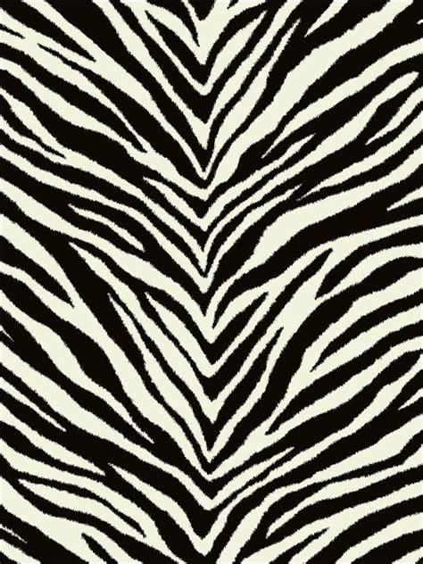 Zebra Animal Print Wallpaper EC51200 by Printers Guild ...
