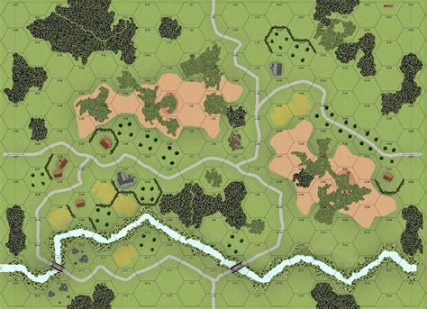 custom advanced squad leader map dungeon maps