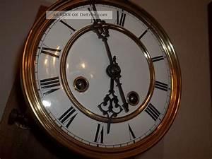 Uhrwerke Für Wanduhren : antikes uhrwerk regulator wanduhr ruttmann klein um 1870 ~ A.2002-acura-tl-radio.info Haus und Dekorationen