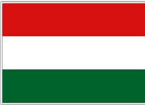 Résultat d'image pour drapeau HONGRIE