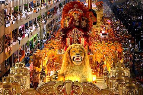 Brazilian Carnival Rio De Janeiro