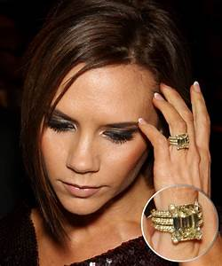 you will not believe the victoria beckham engagment ring With david beckham wedding ring