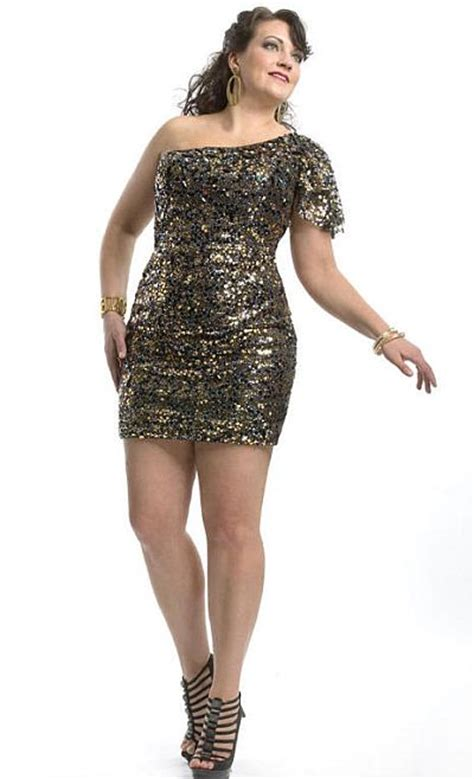Cheap Plus Size Cocktail Party Dresses 07