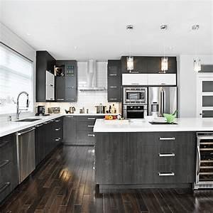 Cuisine Blanche Et Noire : magie noire et blanche dans la cuisine cuisine ~ Nature-et-papiers.com Idées de Décoration