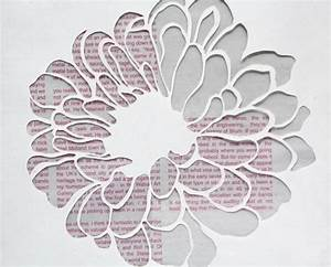 13 best photos of paper flower patterns paper flower With paper cut out templates flowers