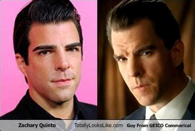 zachary quinto geico totally looks like