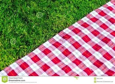 nappe de pique nique nappe de pique nique sur l herbe photo stock image 48572430