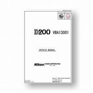 Nikon D200 Repair Parts Download